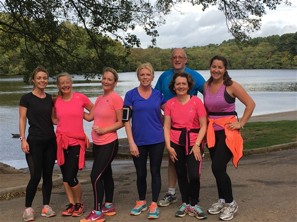 At the back of Wyndley Swimming Baths - SE Fitness All Groups