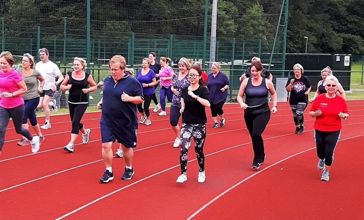 Tavistock College Running Track - Tavy Joggers C25K