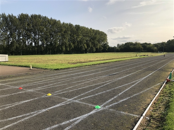 Meet in the car park outside the Sale Harriers clubhouse - Track Sessions