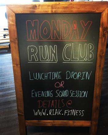 RIAK Fitness - Monday Night Run Club