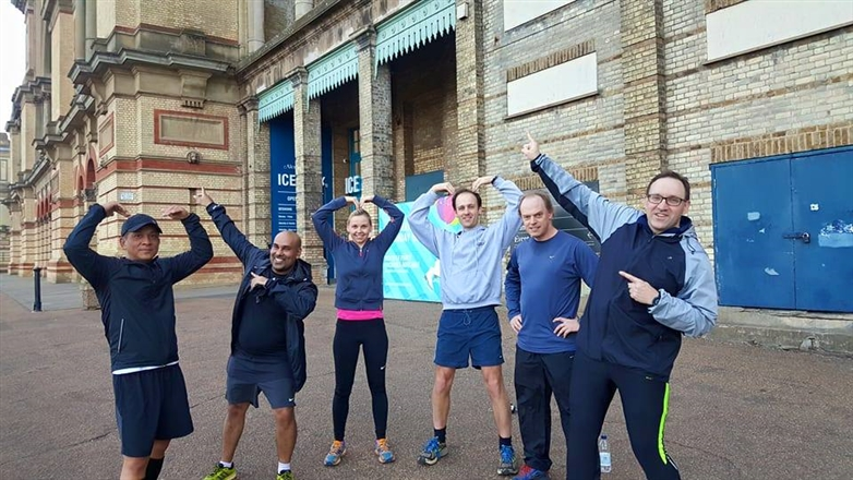 Alexandra Palace - Social Run - Monday Evening
