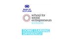 Bank of Scotland School for Social Entrepreneurs