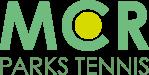 MCR Parks Tennis logo