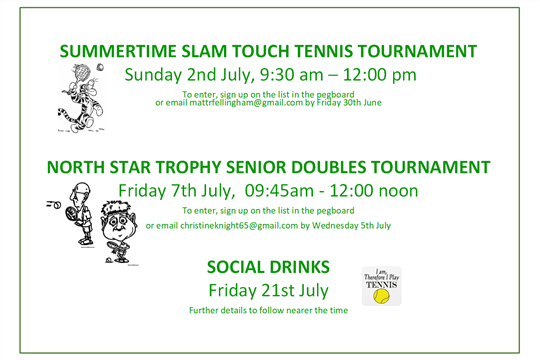 ClubSpark / Royston Tennis Club / Competition News
