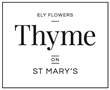 Ely Flowers - Thyme on St Mary's