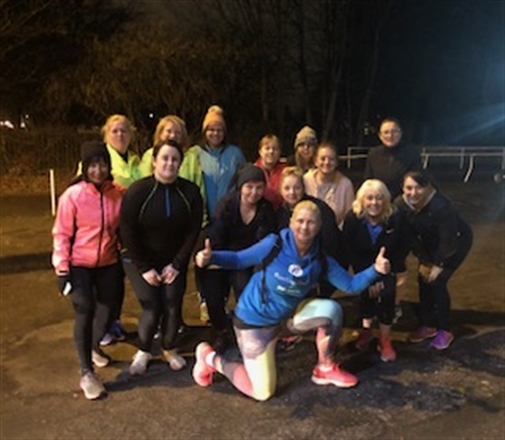 In Front of Barnbow Stonehouse - Manston Runners Couch to 5K